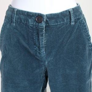 Tommy Hilfiger teal blue green velvet pants